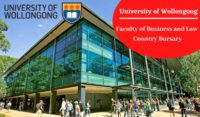 University of Wollongong Faculty of Business and Law Country Bursary in Australia