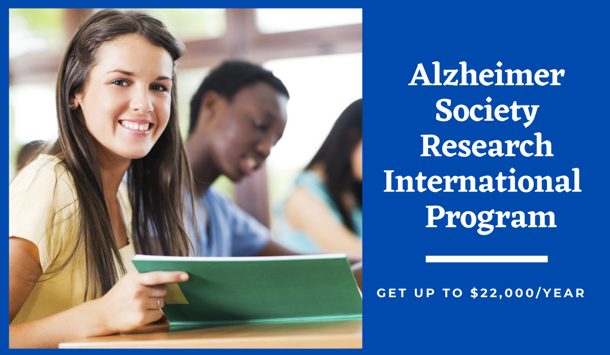 Alzheimer Society Research Programme for International Students in Canada