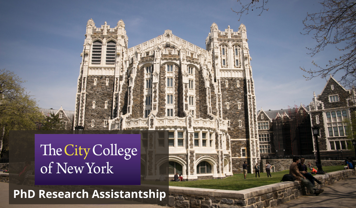 City College of New York in PhD Research Assistantship in the USA