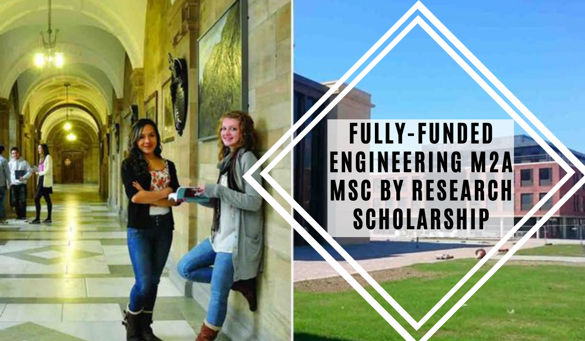 Fully-Funded Engineering M2A MSc by Research Scholarships at Swansea University in UK, 2020