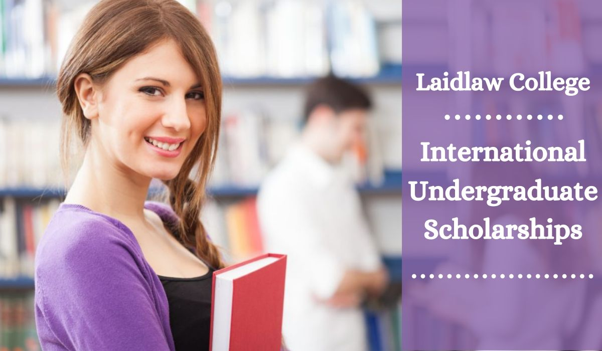 International undergraduate financial aid at Laidlaw College, New Zealand