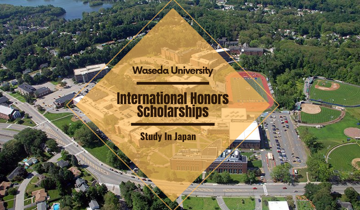WU Honors Scholarships for International Students in Japan