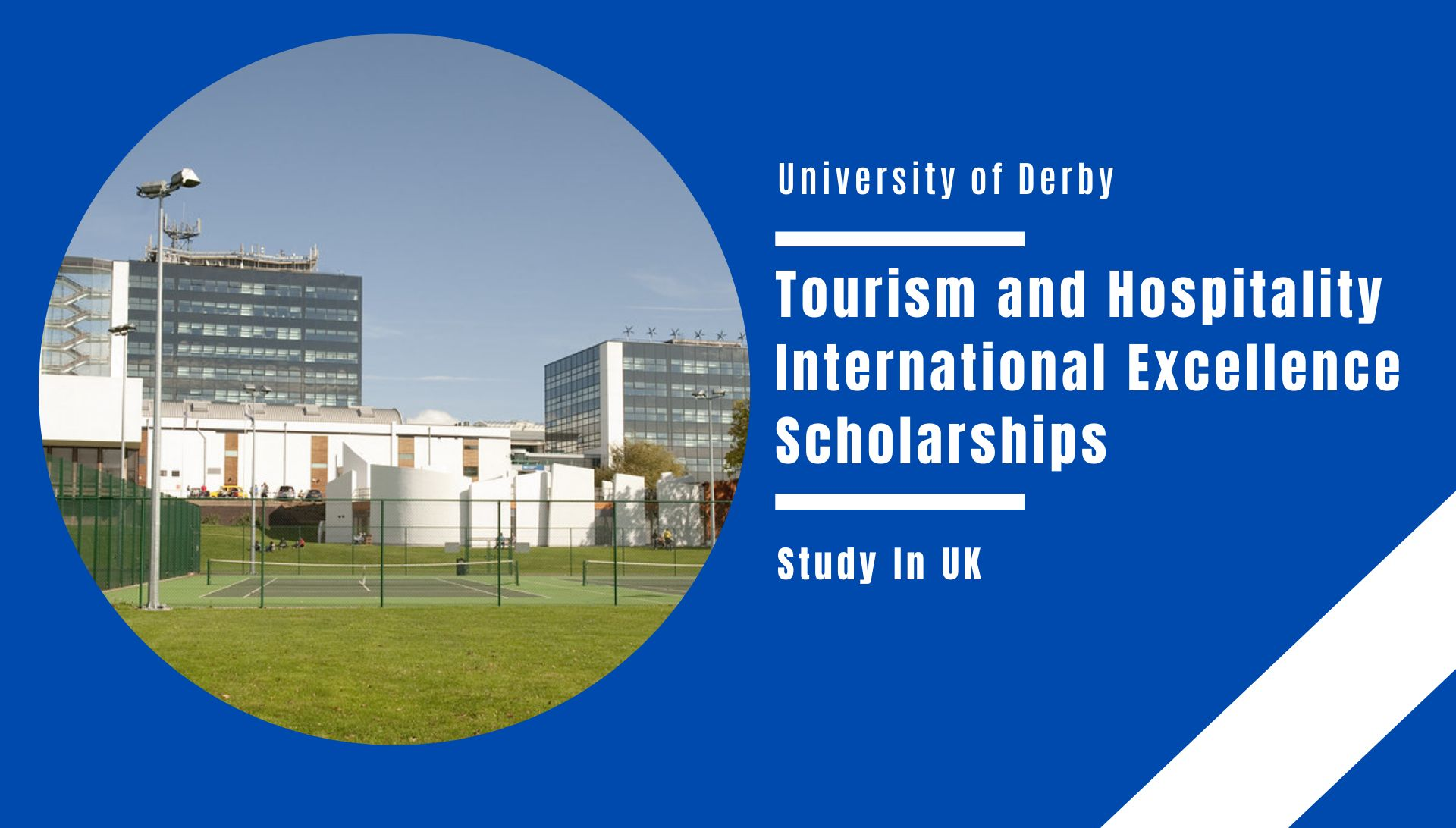 University of Derby Tourism and Hospitality International Excellence Scholarships in UK, 2021