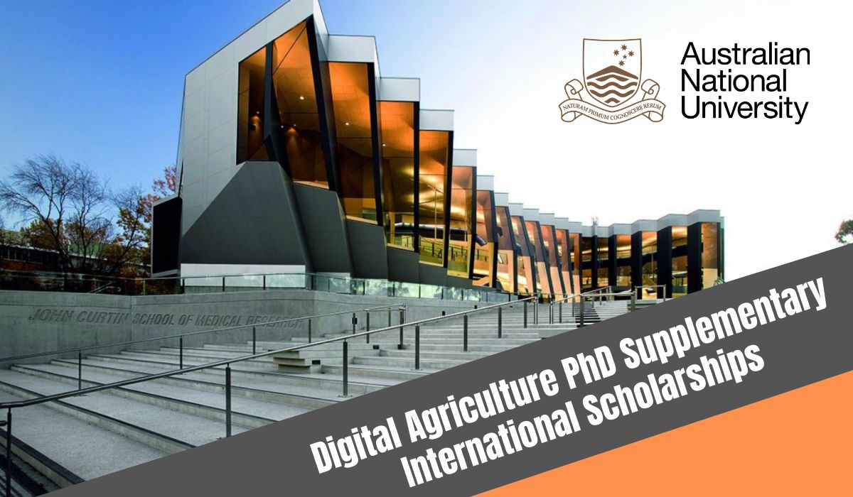 ANU Digital Agriculture PhD Supplementary international awards in Australia, 2020