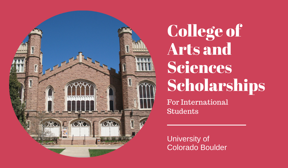 200 College of Arts and Sciences international awards at CU Boulder in USA