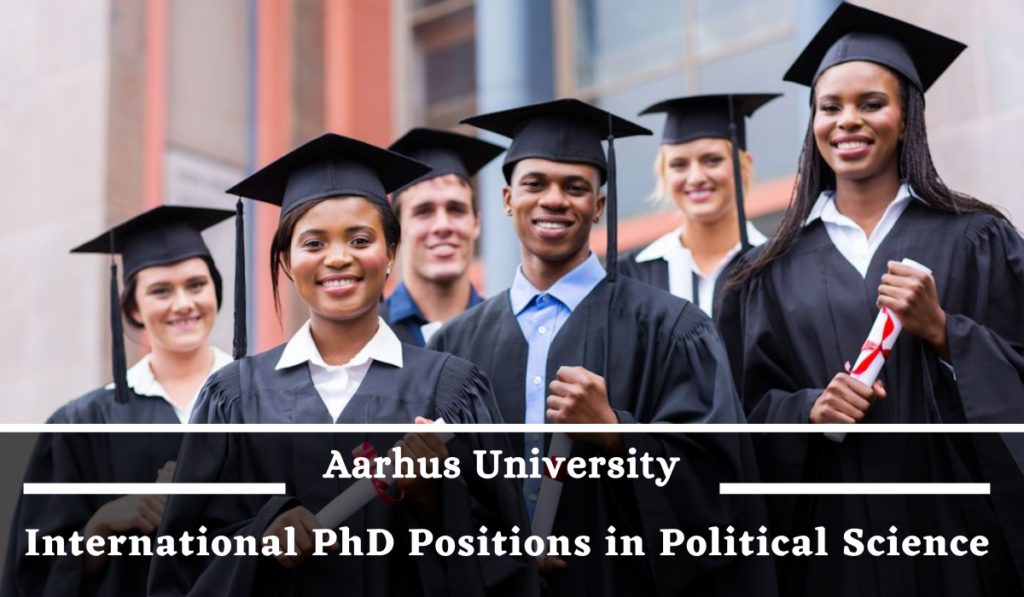 International PhD Positions in Political Science