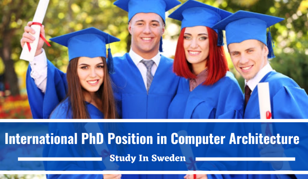 International PhD Position in Computer Architecture